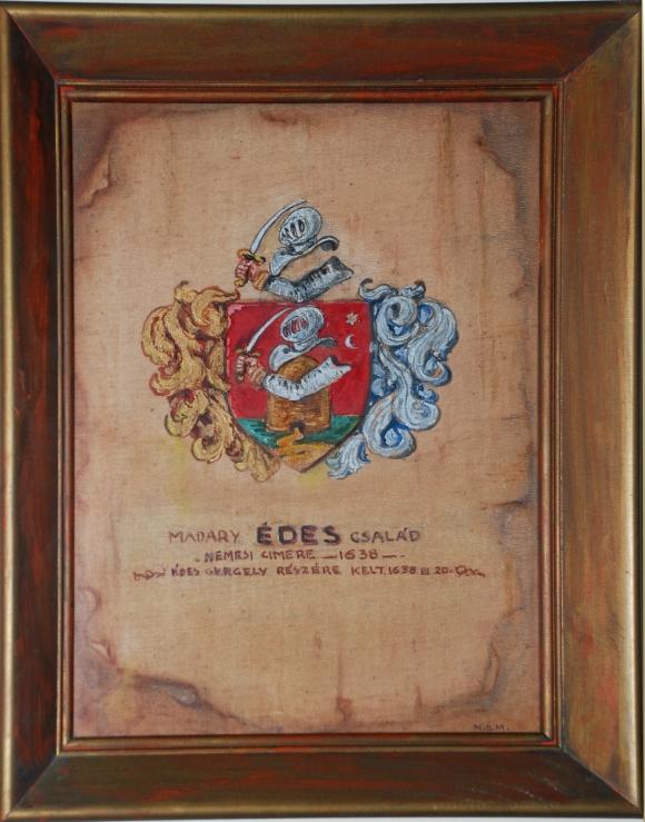 Madáry Édes Family Crest